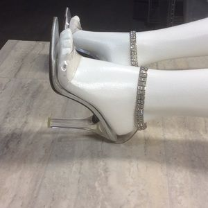 a818c626df4 Women s Stuart Weitzman Clear Heels on Poshmark